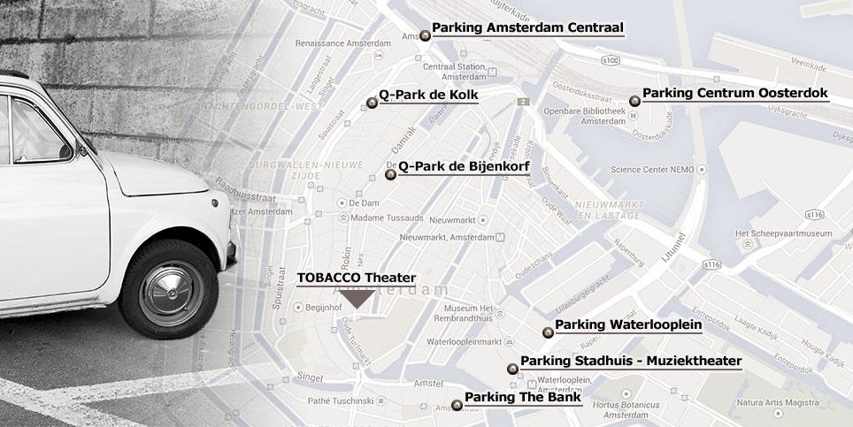 plattegrond parkeren