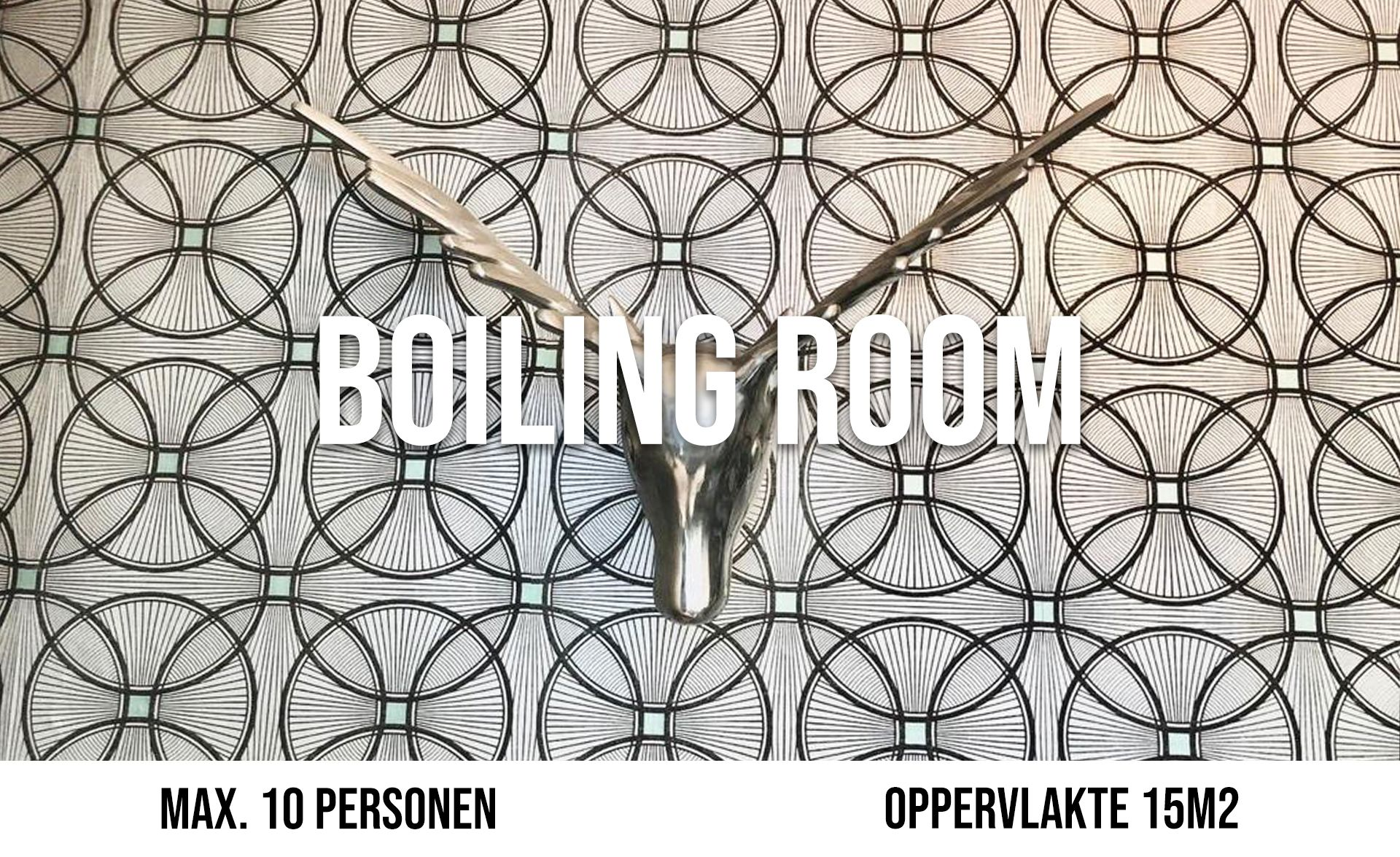 Boiling Room (maximaal 10 personen, oppervlakte 15 m²)