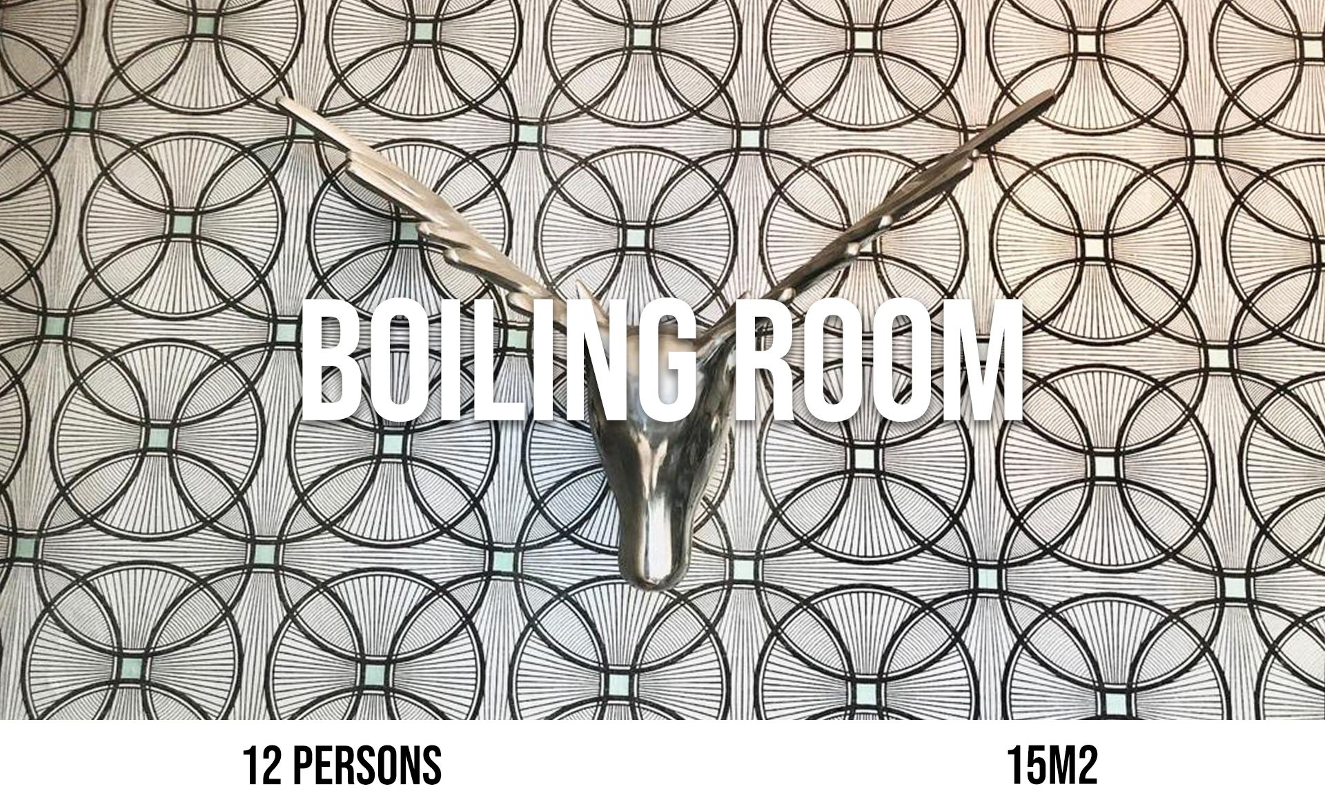 Boiling Room (maximum 10 persons, area 15 m²)