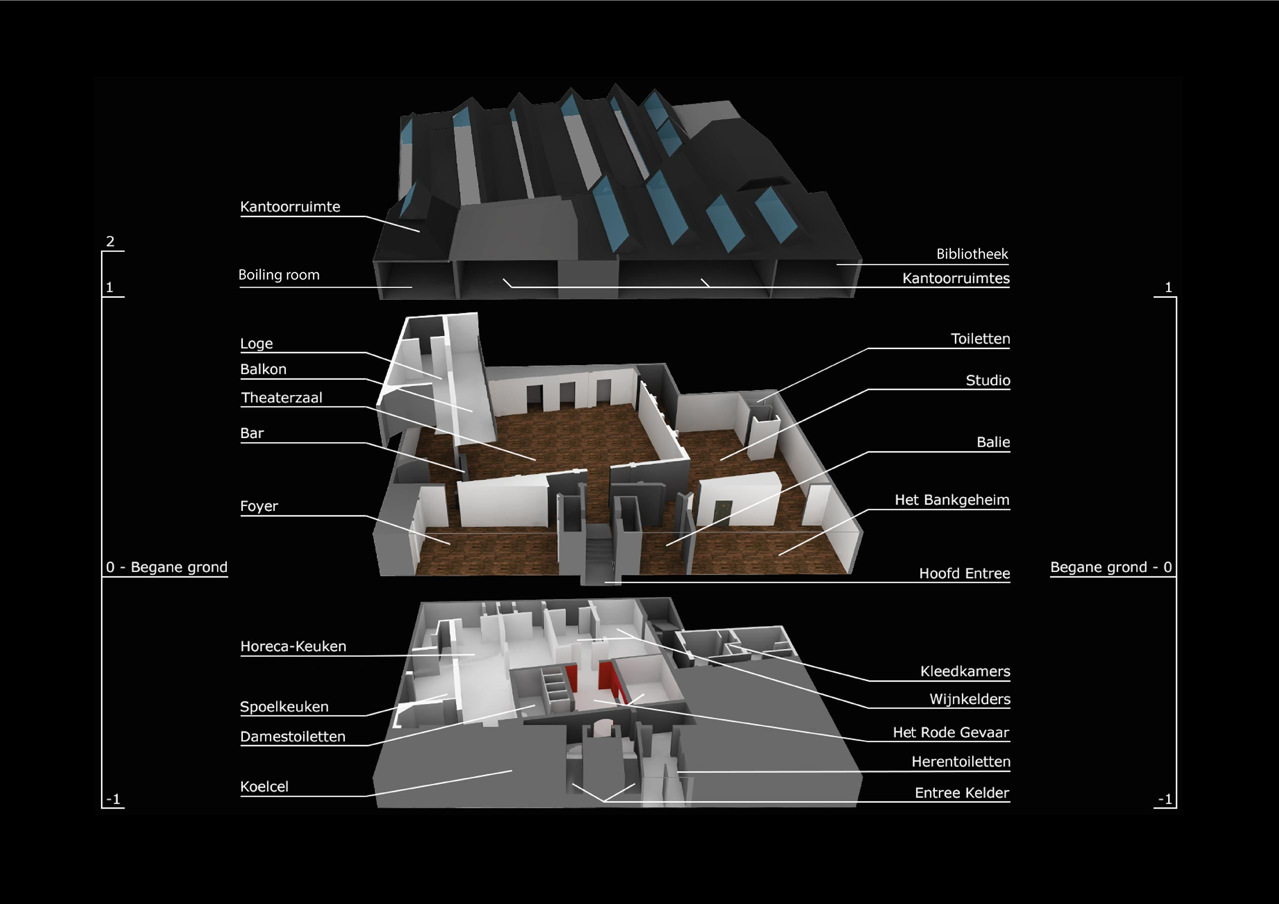 Plattegrond XL Tobacco Theater