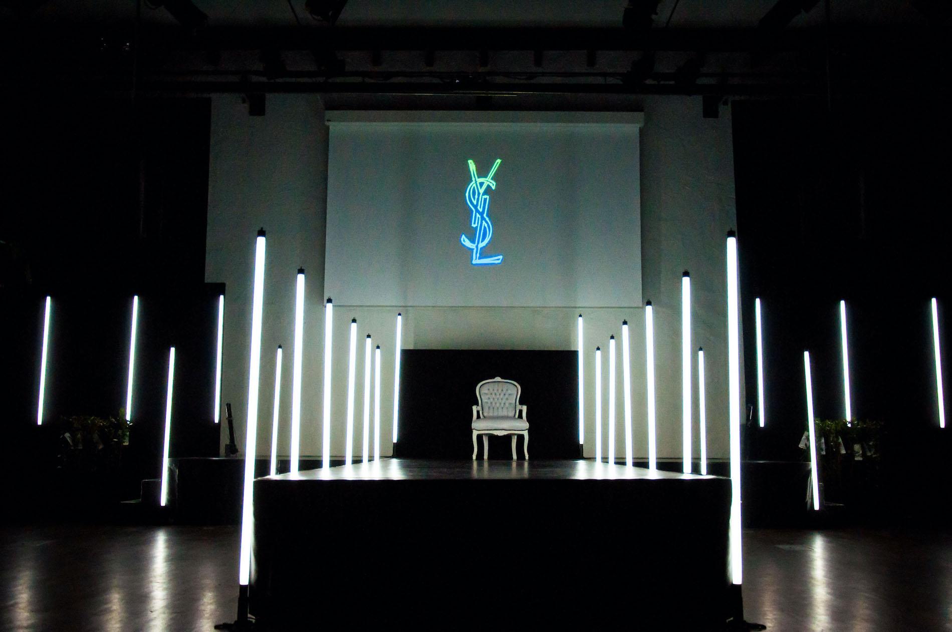 Yves Saint Laurent event