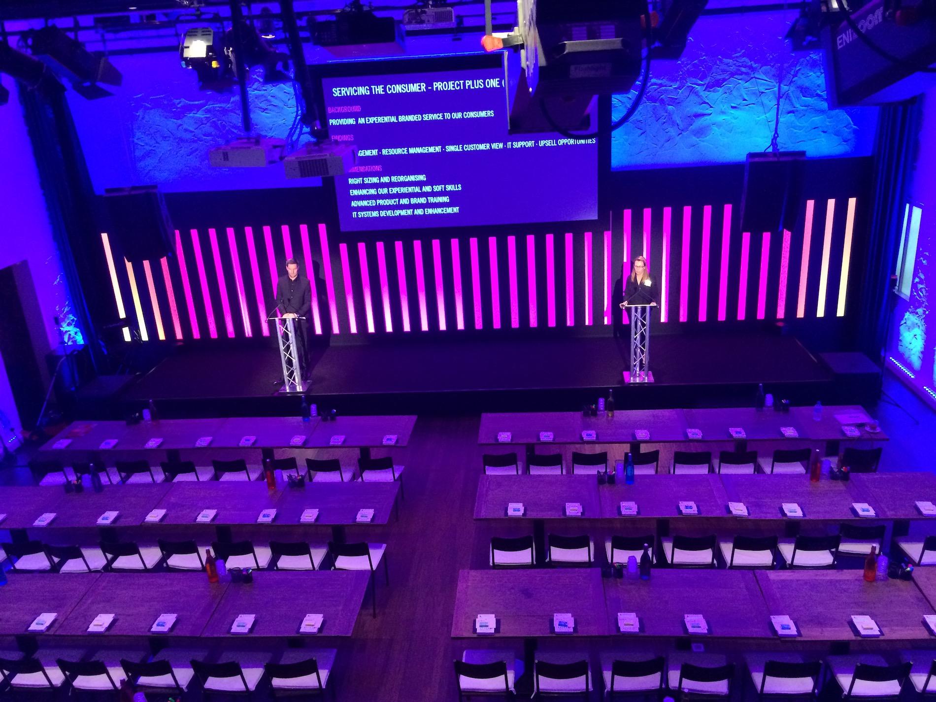 Zakelijk event theaterzaal